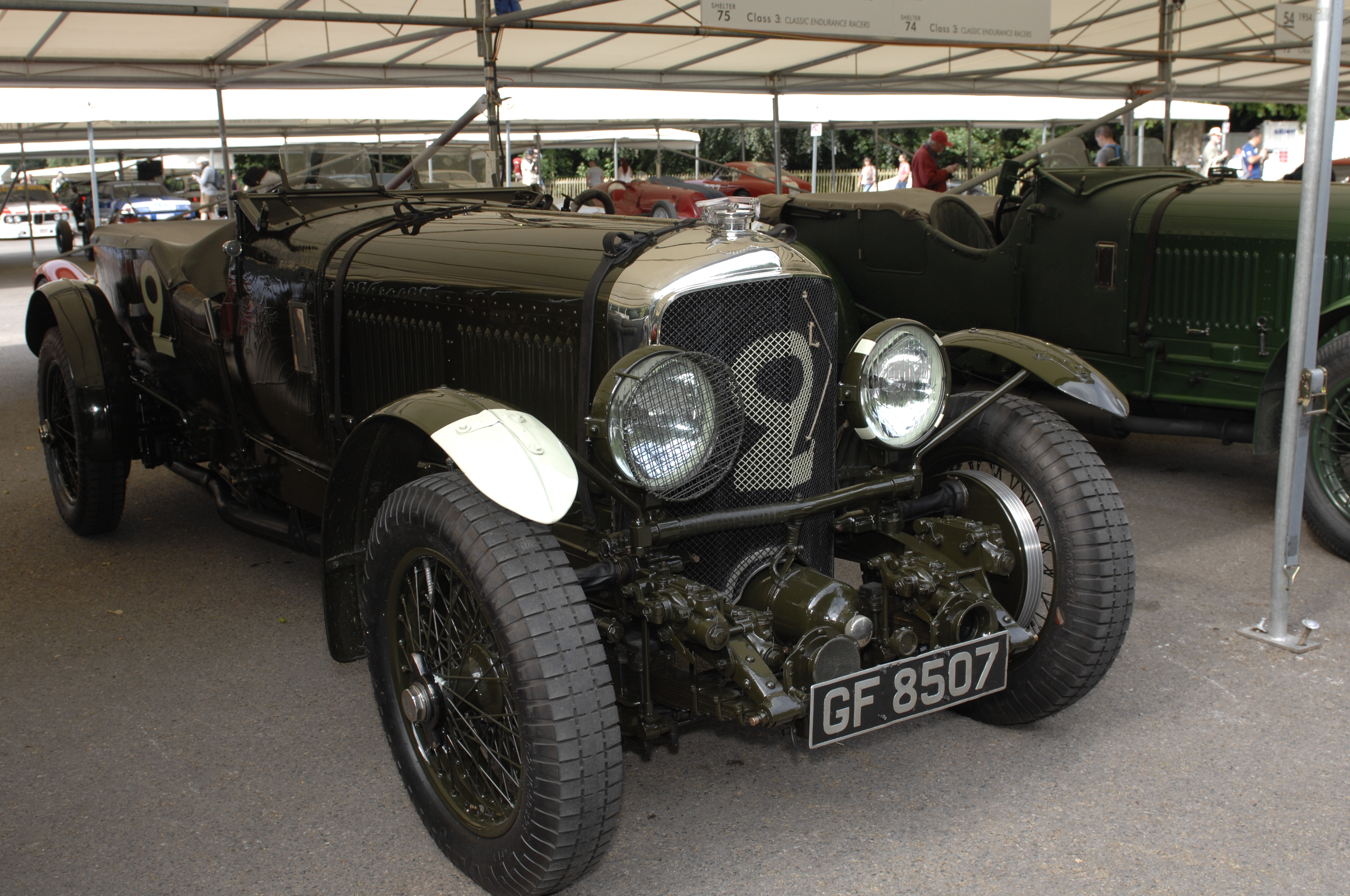 Chassis HM2868 is one of three works Bentley Speed Sixes. Built in 1930 on a 11-foot chassis, HM2868 won the 1930 Brooklands 24 hour race with Barnato and Clement driving. The same car was used at Le Mans and placed second.