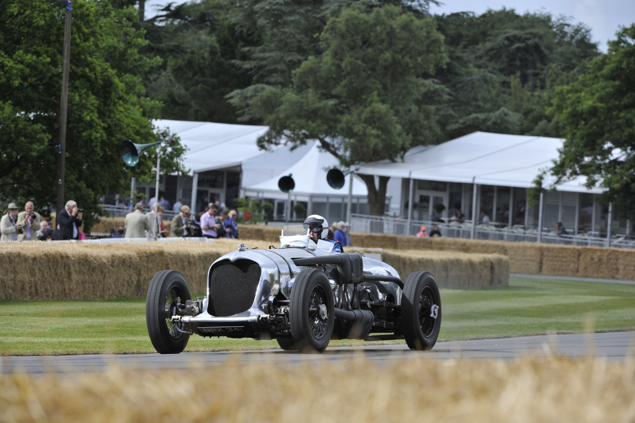 One of the pride and joys of British motoring was and still is this curious looking 1934 Napier-Railton. The nation's love for this car enabled the BDRC to secure 800 000 GBP by donation to keep it as a permanent fixture in the Brooklands Museum. This is easily the most fitting home since the Napier-Railton holds the Outer Circuit lap record of 143.44mph at Brooklands which was the center of British motoring before the war. In a sense, this is the 'Ultimate Brooklands Racecar'.