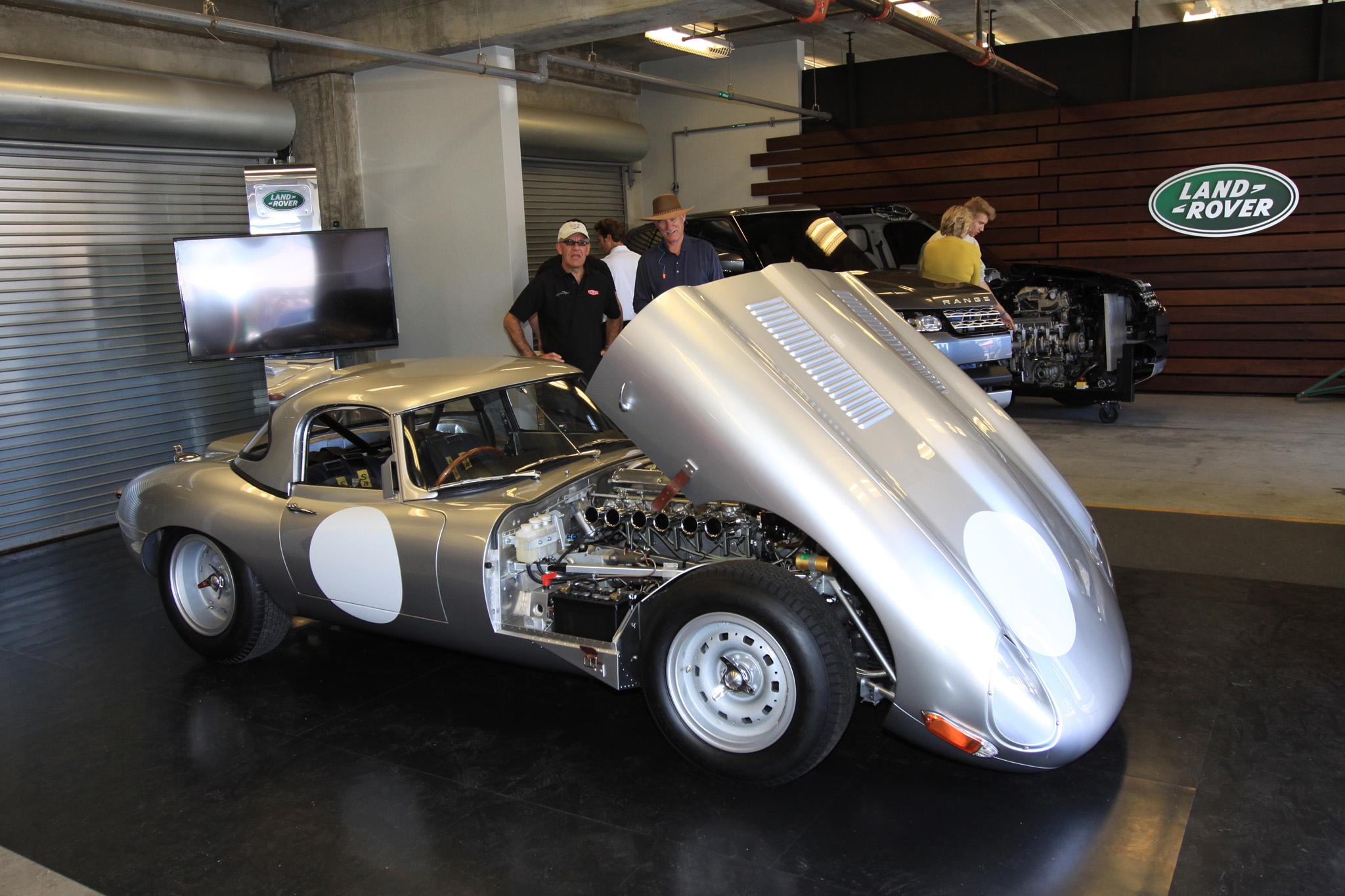 Special Operations revealed the 'New' Lightweight E-type in Monterey. They will be six customer cars each assigned one of the remaining chassis numbers originally allocated in 1963.