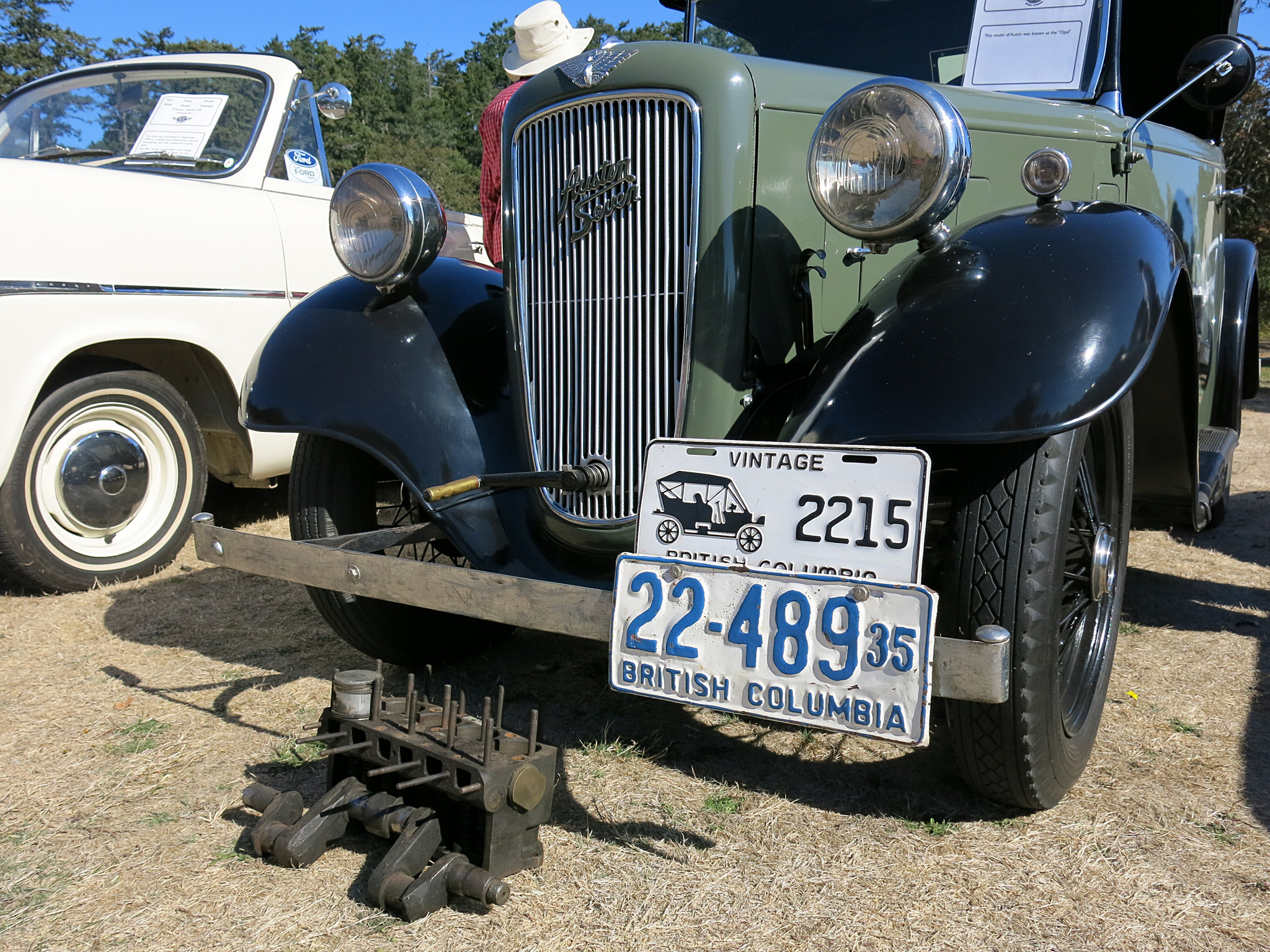 David Gill's 1935 Austin 7 Opal does just fine with 747 ccs