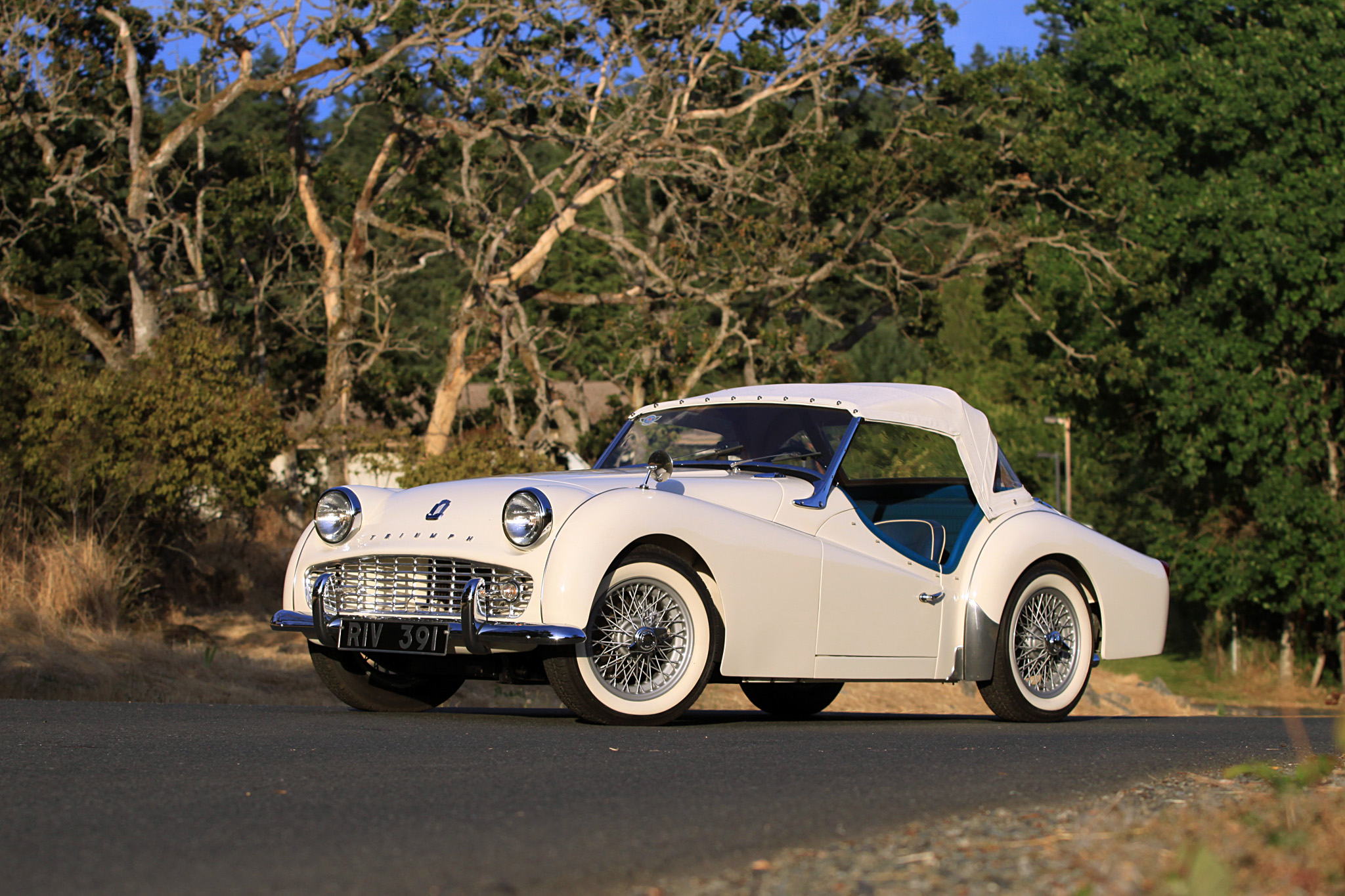 Sold 1960 Triumph Tr3a Owen Automotive Canada
