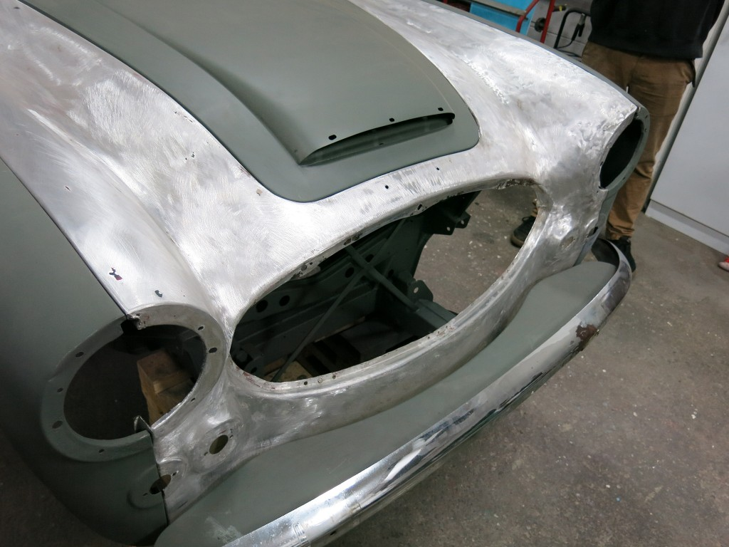 1967 Austin Healey 3000 BJ8 Bodywork/Metalwork Restoration