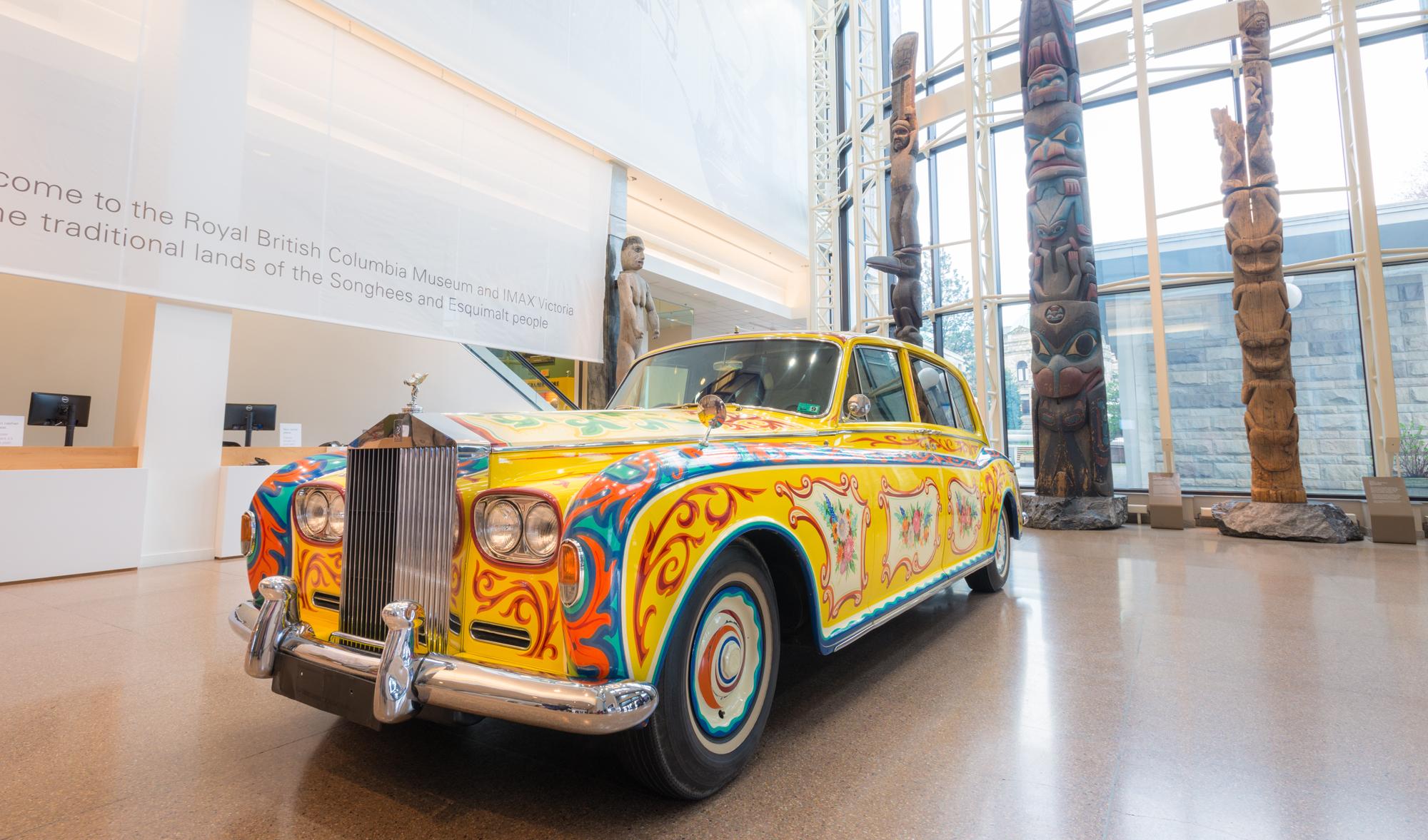 John Lennon's 1965 Rolls Royce Phantom V Touring Limousine