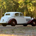 1934 Derby Bentley 3½ 3.5 Litre Sports Saloon