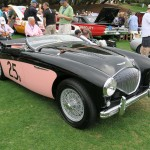 Pink & Black 1955 Austin Healey 100 Show Car