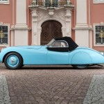 Pastel Blue 1950 Jaguar XK 120 Alloy Roadster 670123