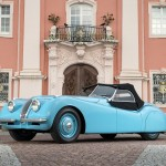 Pastel Blue 1950 Jaguar XK 120 Alloy Roadster 670123