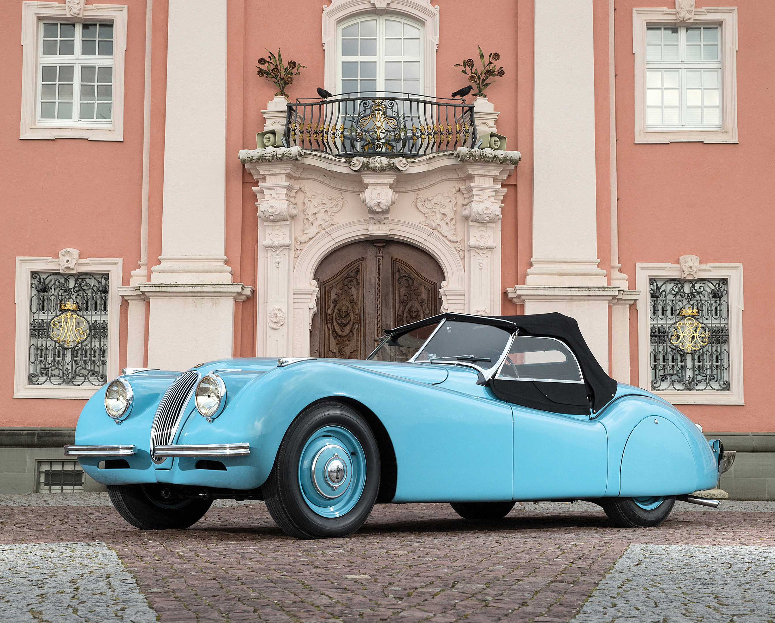 Pastel Blue Xk120 To Be Auctioned Owen Automotive Canada