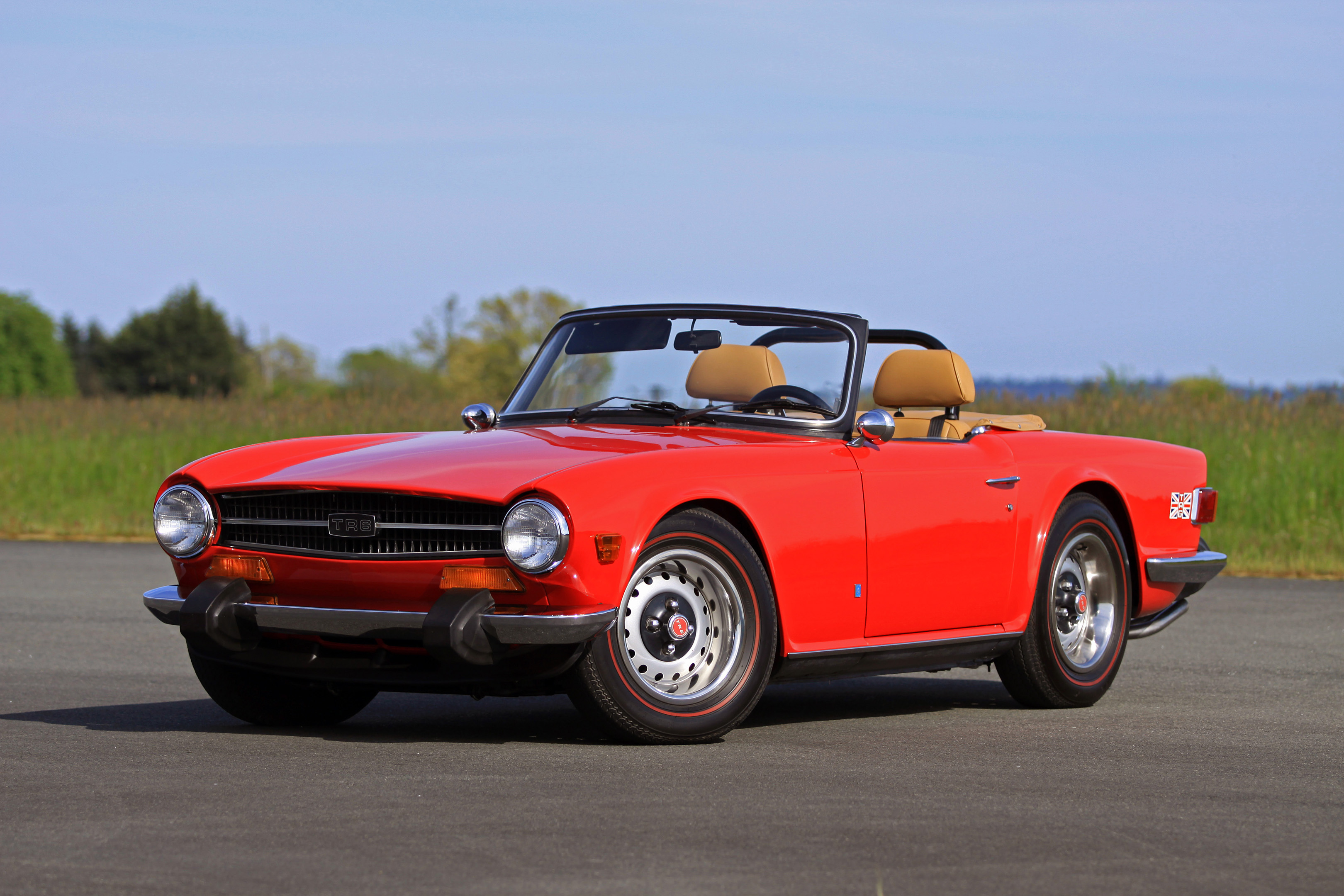 sold 1974 triumph tr6 owen automotive canada. Black Bedroom Furniture Sets. Home Design Ideas