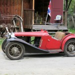 Original 1933 MG J2 Roadster