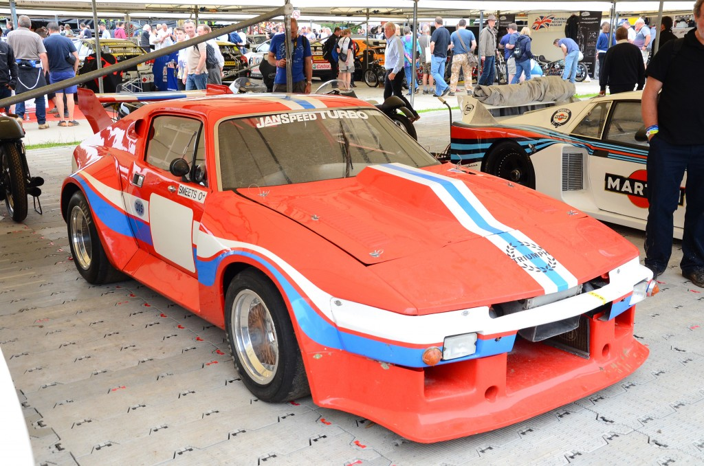 Triumph TR7 V8 Turbo Le Mans at the 2016 Goodwood Festival of Speed