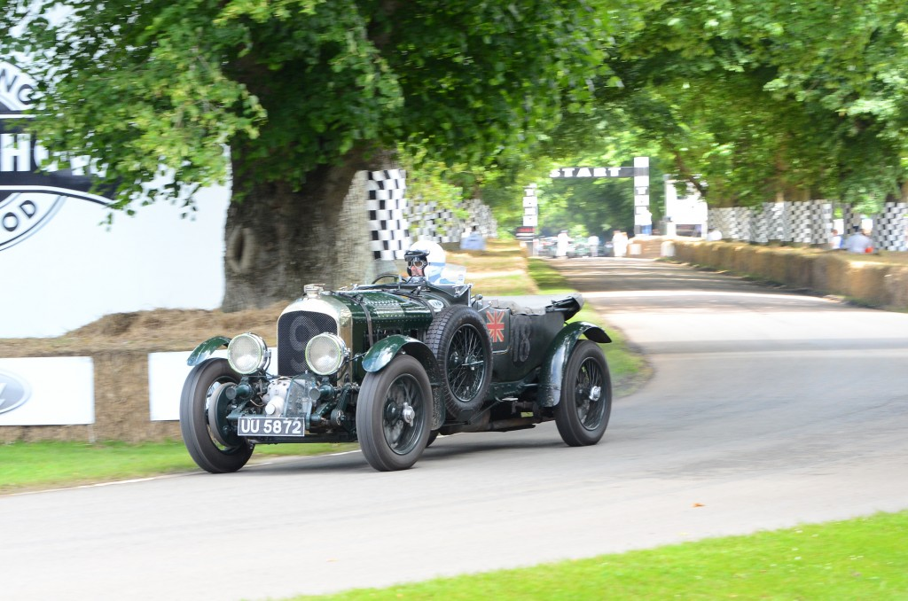 1929 Bentley 4½ Litre Blower at the 2016 Goodwood Festival of Speed