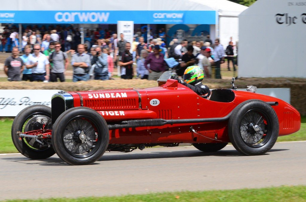 1925 Sunbeam Tiger at the 2016 Goodwood Festival of Speed