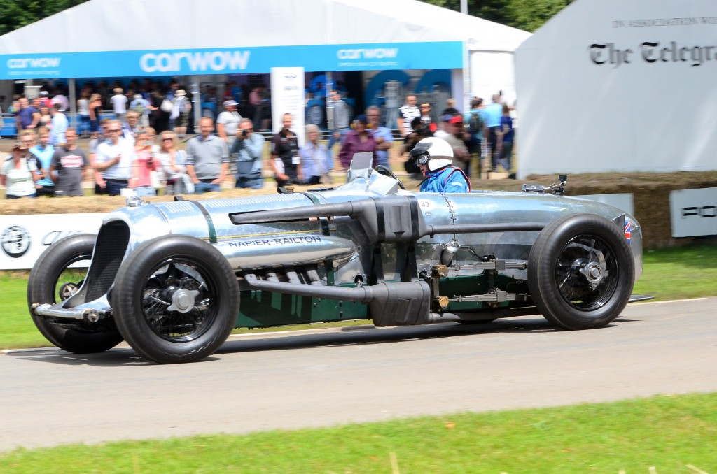 1934 Napier-Railton Special at the 2016 Goodwood Festival of Speed