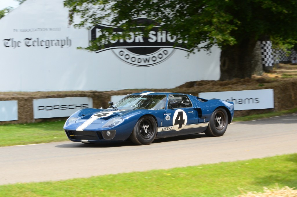 1966 Ford GT40 Mark I GT40P/1055 at the 2016 Goodwood Festival of Speed