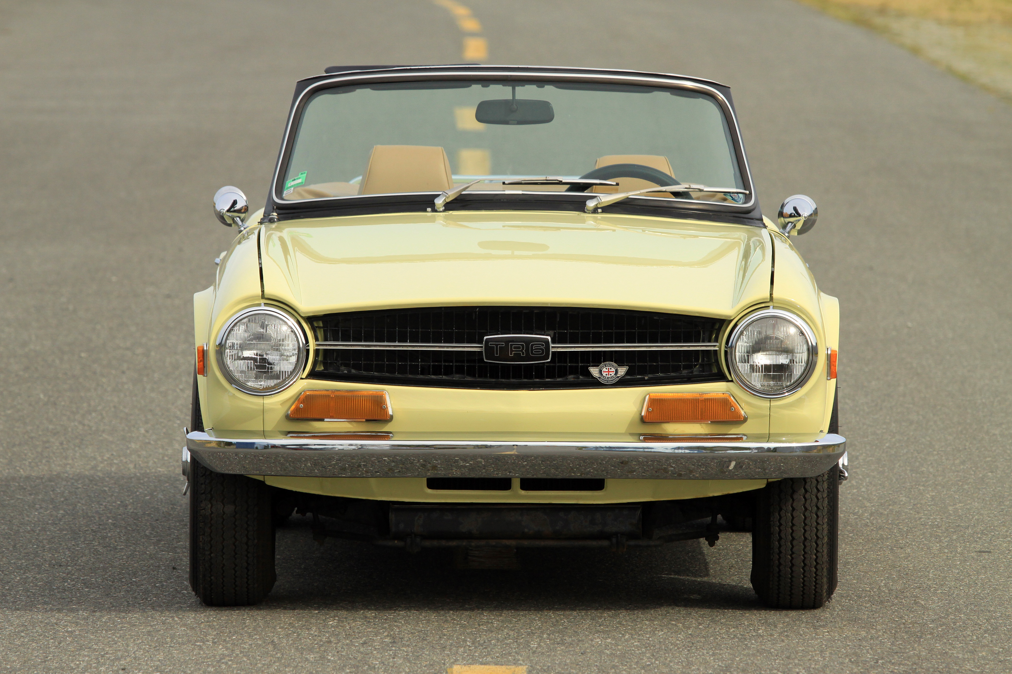 Sold 1969 Triumph Tr6 Owen Automotive Canada