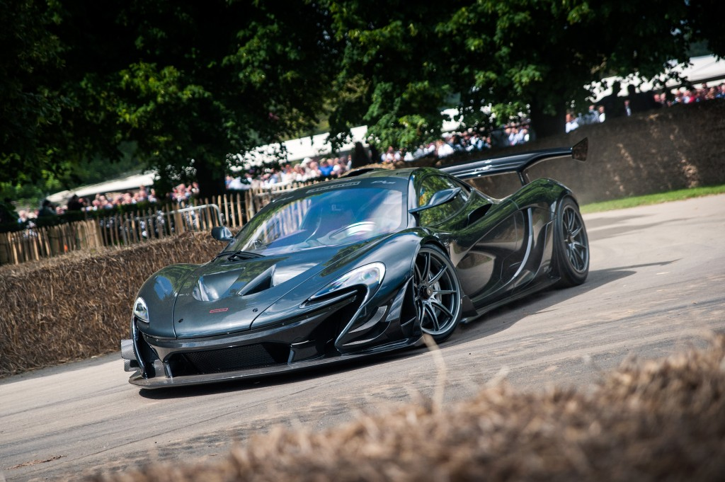 2016 McLaren P1 LM at the 2016 Goodwood Festival of Speed