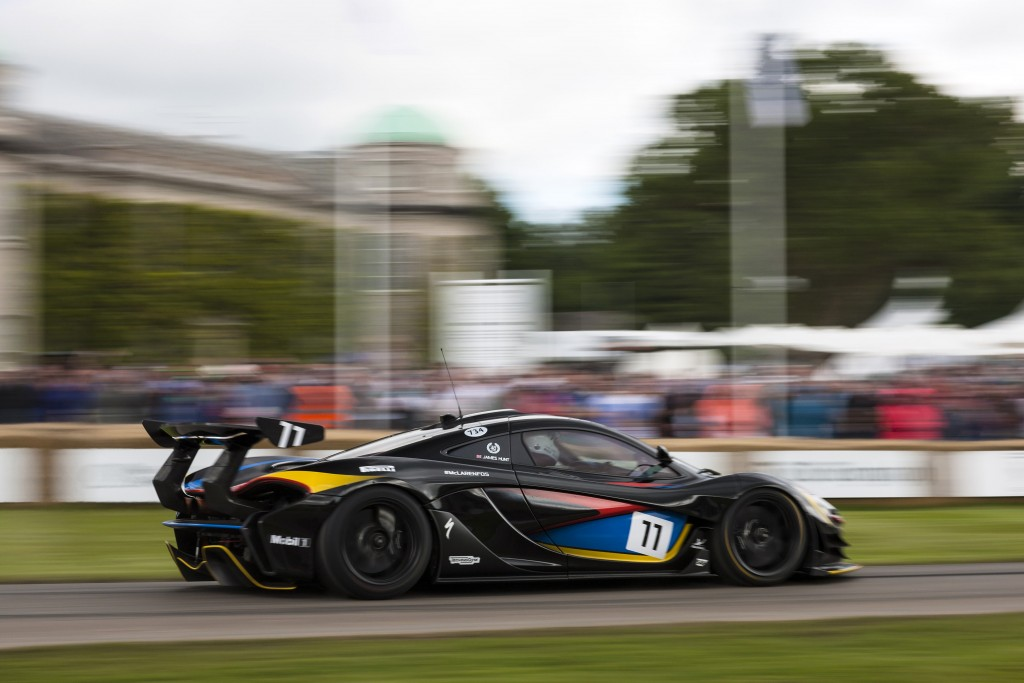 McLaren P1 GTR in James Hunt Livery at the 2016 Goodwood Festival of Speed
