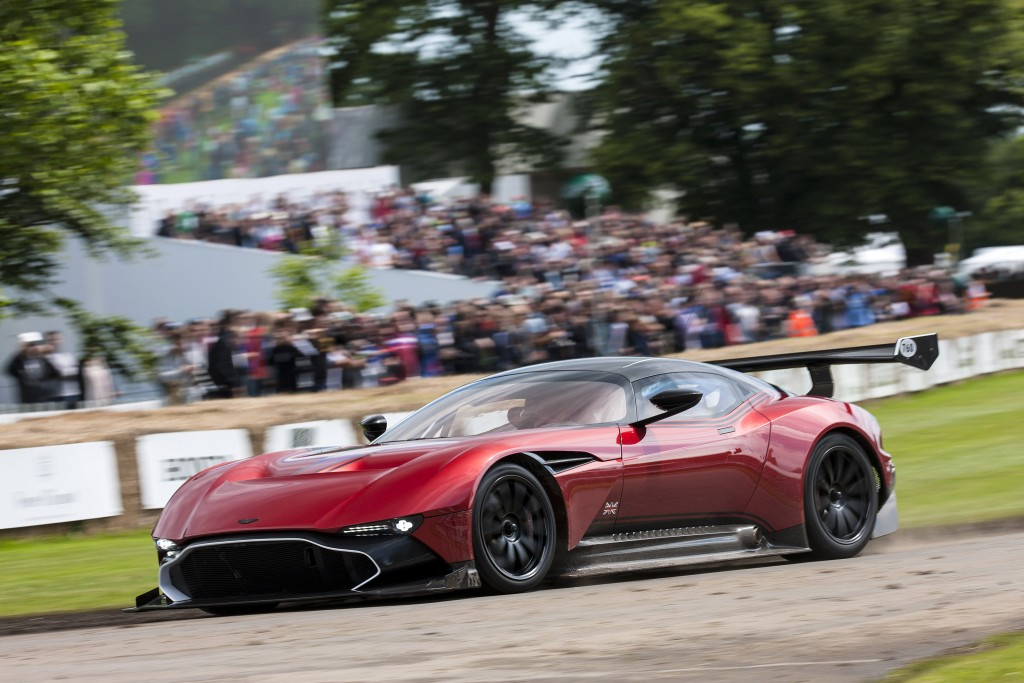 Aston Martin Vulcan at the 2016 Goodwood Festival of Speed