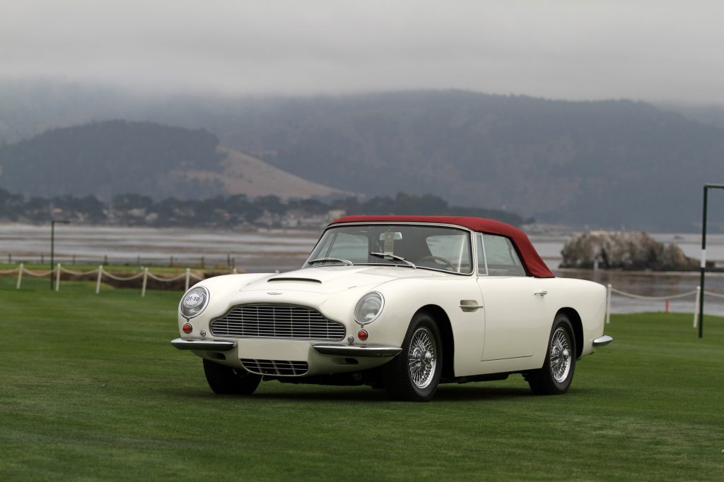 1966 Aston Martin Short Chassis Volante Convertible DBVC/2318/R