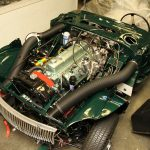 1967 Austin Healey BJ8 Engine Bay Restoration