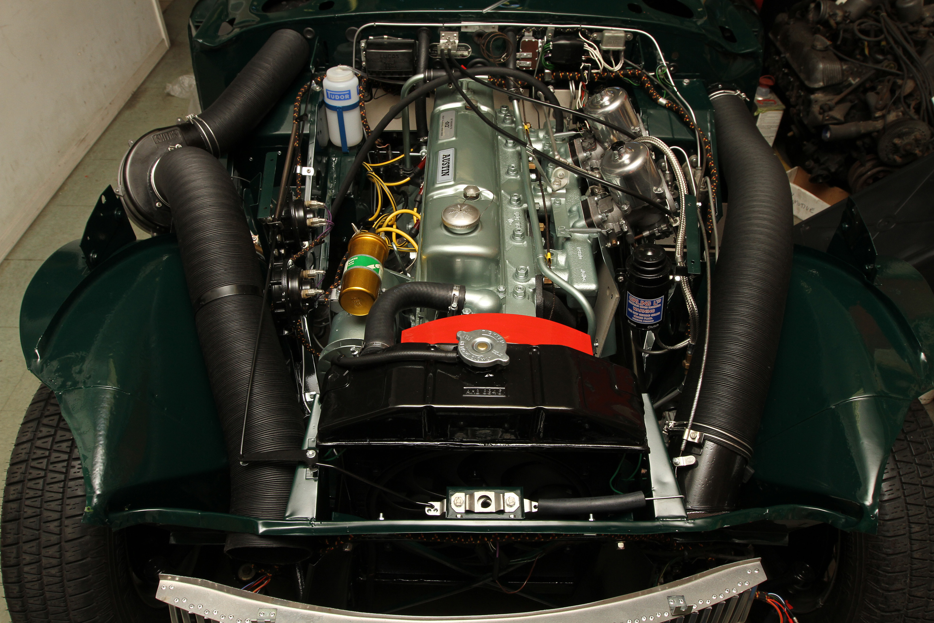 Bj8 Restoration  Part 7  Completed Engine Bay  U2013 Owen
