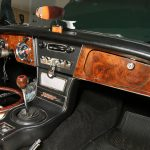 Restored 1967 Austin Healey BJ8 Dashboard