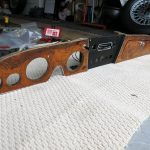 Unrestored 1967 Austin Healey BJ8 Dashboard