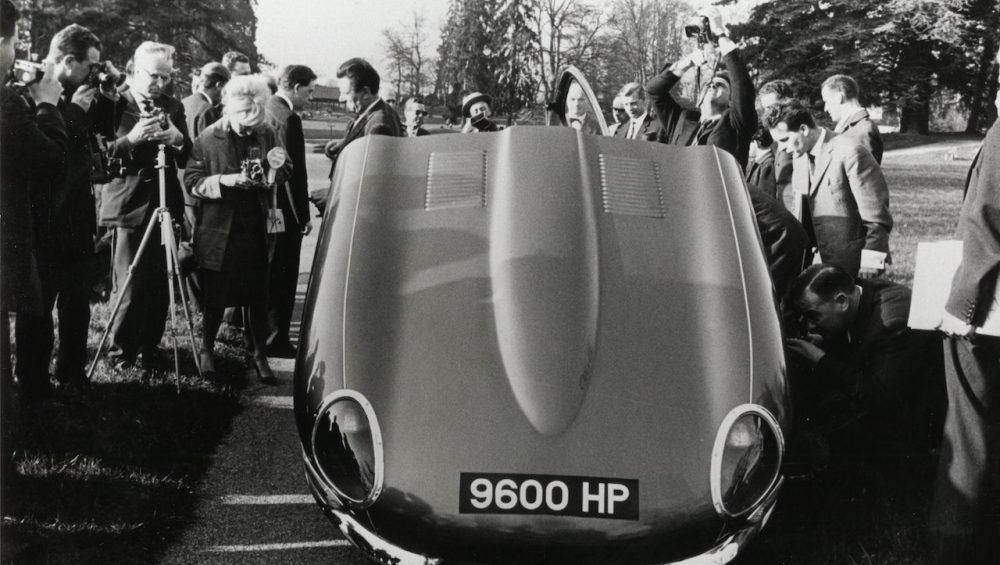1961 Jaguar E-Type FHC 885002 9600HP