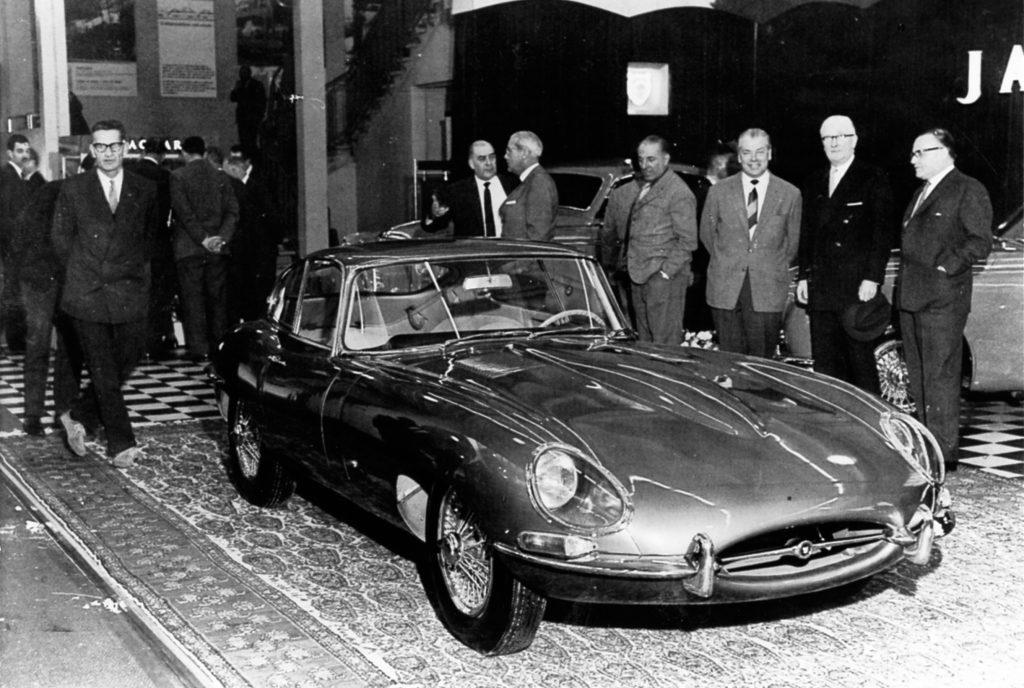 1961 Jaguar E-Type FHC 885005